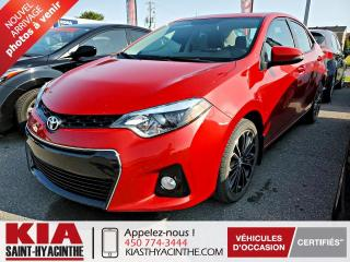 Used 2014 Toyota Corolla S ** TOI OUVRANT / CUIR for sale in St-Hyacinthe, QC