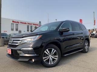 Used 2016 Honda Pilot EX-L RES - Leather - DVD - Running Boards for sale in Mississauga, ON