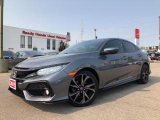 Used 2019 Honda Civic Hatchback Sport Touring - Navigation - Leather for sale in Mississauga, ON
