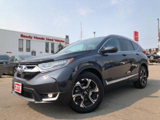 Used 2019 Honda CR-V Touring -  Navi - Leather - Sunroof - Rear Camera for sale in Mississauga, ON