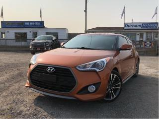 Used 2016 Hyundai Veloster Turbo for sale in Whitby, ON