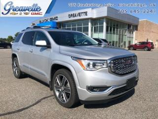 Used 2019 GMC Acadia Denali  - Denali Luxury -  Next Gen Tech for sale in Bracebridge, ON