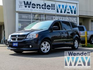 Used 2013 Dodge Grand Caravan Crew NAV/DVD/TOW for sale in Kitchener, ON