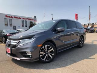 Used 2019 Honda Odyssey Touring -  Navi - Leather - Sunroof - Rear Camera for sale in Mississauga, ON