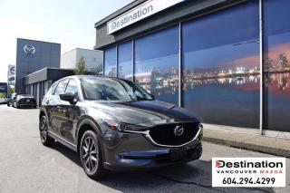 Used 2018 Mazda CX-5 GT-Fully loaded! it has it all! for sale in Vancouver, BC