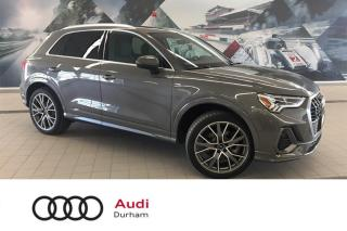 Used 2019 Audi Q3 2.0T Technik + Sport Pack | Xenons | Snow Tires for sale in Whitby, ON