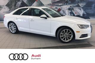 Used 2017 Audi A4 2.0T Komfort + AWD | Sunroof | Heated Seats for sale in Whitby, ON