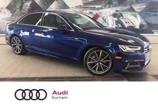 Used 2017 Audi A4 2.0T Progressiv + Vent Seats | S Line | Nav for sale in Whitby, ON