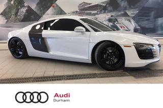 Used 2012 Audi R8 4.2L Coupe + Manual! | Nav | B & O for sale in Whitby, ON