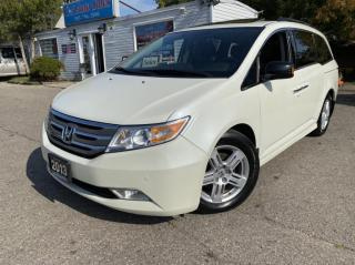 Used 2013 Honda Odyssey 4dr Wgn Touring w/RES & Navi ACCIDENT FREE MINT CONDITION for sale in Brampton, ON