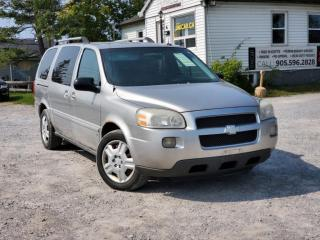 Used 2008 Chevrolet Uplander As-Is LT 7 Passenger DVD Power Group A/C for sale in Sutton, ON