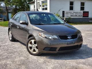 Used 2010 Kia Forte AS-IS No Accidents Sunroof Bluetooth Heated Seats Power A/C for sale in Sutton, ON