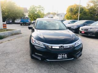 Used 2016 Honda Accord Sedan 4dr I4 CVT EX-L for sale in Barrie, ON