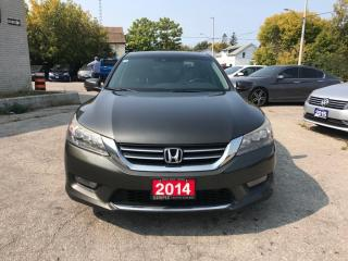 Used 2014 Honda Accord Sedan 4dr I4 CVT Touring for sale in Barrie, ON