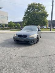 Used 2008 BMW 5 Series 4dr Sdn 550i RWD for sale in North York, ON
