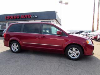 Used 2011 Dodge Grand Caravan Crew Stow & Go 3.6L V6 Power Sliding Door DVD Certified for sale in Milton, ON