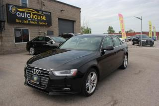Used 2013 Audi A4 MANUAL/PREMIUM PLUS/LEATHER /SUNROOF/NEW TIRES/NEW BREAKES for sale in Newmarket, ON