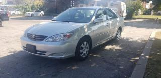 Used 2003 Toyota Camry 4dr Sdn | LOW KM! | Accident-Free | 1 Owner | Remote Starter for sale in Concord, ON