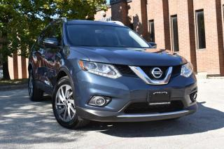 Used 2015 Nissan Rogue AWD  | NO ACCIDENTS | PANOROOF | NAV | REAR CAM | BOSE SOUND for sale in Mississauga, ON