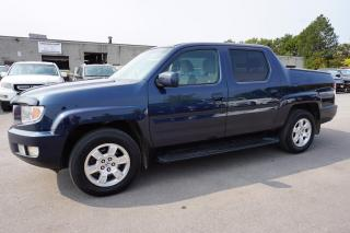 Used 2010 Honda Ridgeline RTL 4WD CERTIFIED 2YR WARRANTY *FREE ACCIDENT* CRUISE ALLOYS BED COVER AUX POWER OPTIONS for sale in Milton, ON