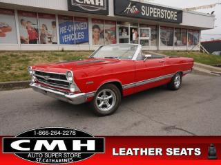 Used 1967 Ford Fairlane XL  289 V8 CONVERTIBLE for sale in St. Catharines, ON
