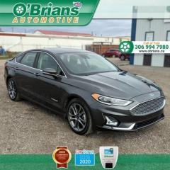 Used 2019 Ford Fusion Hybrid Titanium for sale in Saskatoon, SK