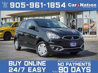 Used 2019 Mitsubishi Mirage ES| BACK UP CAMERA| ONE PRICE INTEGRITY| for sale in Burlington, ON