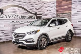 Used 2017 Hyundai Santa Fe Sport SE+CUIR+TOIT PANORAMIQUE+SIEGE ET VOLANT CHAUFFANT for sale in Laval, QC