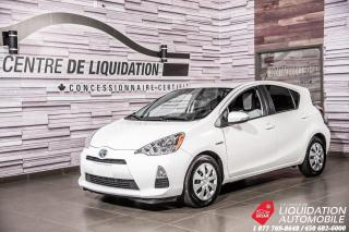 Used 2013 Toyota Prius c AIR+BLUETHOOT+GR.ELECTRIQUE for sale in Laval, QC