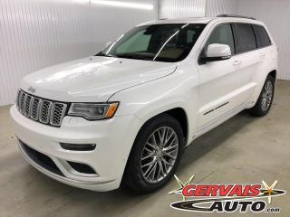 Used 2018 Jeep Grand Cherokee Summit GPS 4x4 MAGS CUIR TOIT PANORAMIQUE for sale in Shawinigan, QC