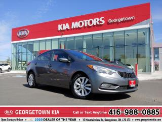 Used 2016 Kia Forte LX | ONE OWNER | B/TOOTH | HTD SEATS  ALLOY WHEEL for sale in Georgetown, ON