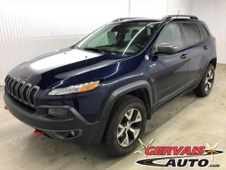 Used 2015 Jeep Cherokee Trailhawk V6 AWD Cuir/Tissus GPS Mags *Ensemble Technologie* for sale in Shawinigan, QC
