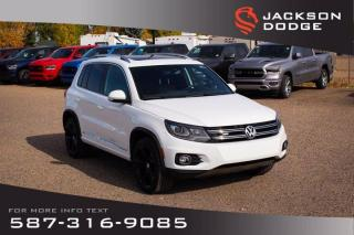 Used 2016 Volkswagen Tiguan Highline w/ R-Line Pck - NAV, Panormaic Sunroof, Accident Free for sale in Medicine Hat, AB