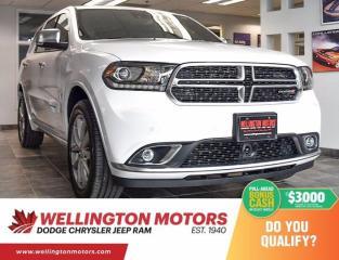 New 2020 Dodge Durango Citadel Platinum for sale in Guelph, ON