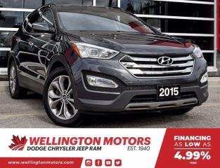 Used 2015 Hyundai Santa Fe Sport Limited / New Rear Brakes And Rotors !! for sale in Guelph, ON