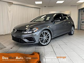 Used 2018 Volkswagen Golf R 4Motion, Cuir, Automatique for sale in Sherbrooke, QC