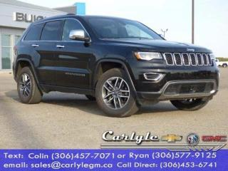 Used 2019 Jeep Grand Cherokee Sunroof Leather for sale in Carlyle, SK