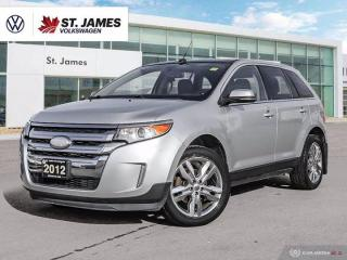 Used 2012 Ford Edge Limited, Push to Start, Heated Seats, with Navigation for sale in Winnipeg, MB
