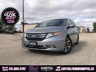 Used 2016 Honda Odyssey Touring *Heated Leather Seats *Rear Seat Entertainment *No Accidents for sale in Winnipeg, MB