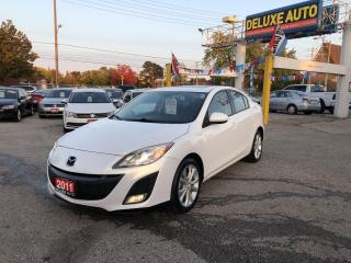 Used 2011 Mazda MAZDA3 4dr Sdn Man s Grand Touring for sale in Etobicoke, ON