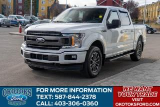Used 2018 Ford F-150 XLT 302A/3.5 ECO BOOST/TLG STEP/SPRAY IN LINER for sale in Okotoks, AB