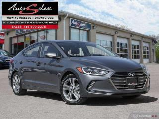 Used 2018 Hyundai Elantra GLS ONLY 17K! **SUNROOF**LEATHER**BACK-UP CAMERA** for sale in Scarborough, ON
