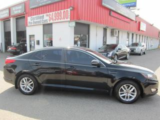 Used 2012 Kia Optima LX $5,995+HST+LIC FEE / CLEAN CARFAX / CERTIFIED / 6-SPEED for sale in North York, ON