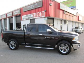 Used 2011 RAM 1500 Big Horn 16,995+HST+LIC FEE / CERTIFIED / CLEAN CARFAX for sale in North York, ON