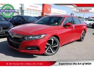 Used 2019 Honda Accord Sport for sale in Whitby, ON