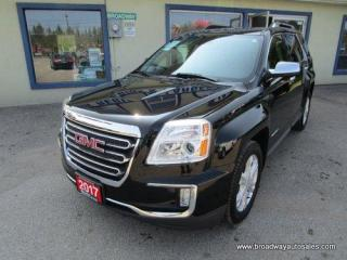 Used 2017 GMC Terrain ALL-WHEEL DRIVE SLT MODEL 5 PASSENGER 2.4L - ECO-TEC.. NAVIGATION.. LEATHER.. HEATED SEATS.. BACK-UP CAMERA.. POWER SUNROOF.. BLUETOOTH SYSTEM.. for sale in Bradford, ON