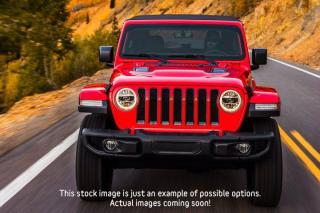 New 2021 Jeep Wrangler Sahara| 2.0 Turbo|LED Lighting|Navi|Safety Grp for sale in Thornhill, ON