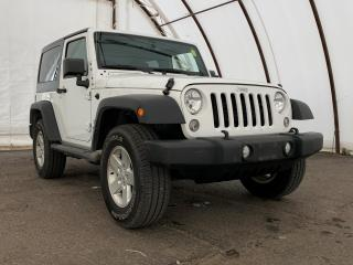 Used 2017 Jeep Wrangler Sport FACTORY REMOTE STARTER, TRAILER TOW GROUP, AIR CONDITIONING for sale in Ottawa, ON