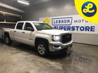 Used 2017 GMC Sierra 1500 Crew Cab 4WD EcoTec 5.3 L V8 * 6 Speed automatic transmission * Tow haul mode * Floor mounted shift transfer case * Heavy duty oil cooler * 4Wheel dis for sale in Cambridge, ON