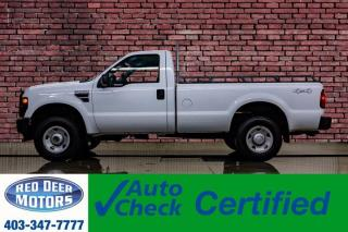 Used 2008 Ford F-250 4x4 Reg Cab XL Longbox for sale in Red Deer, AB
